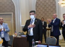 Rustam Shaabdurakhmanov was elected Vice-President of the Asian Fencing Confederation