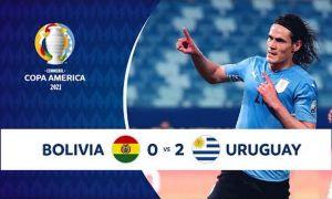 Уругвай Америка кубогидаги илк ғалабасини қўлга киритди? (видео)