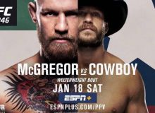 UFC 246 турнирининг асосий кардида кимлар жанг қилади?