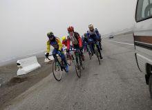 Велоспортсмены в Фергане проводят тренировки