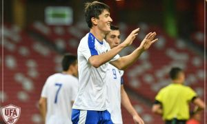 Match Highlights. Uzbekistan down Singapore to claim three vital points
