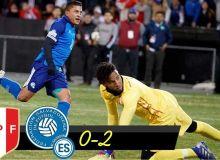 Перу - Сальвадор 0:2 (видео)