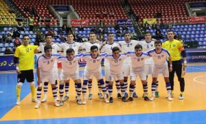 Национальная сборная Узбекистана по футзалу сегодня отправилась в Азербайджан