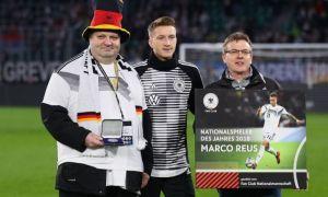Марко Ройс Германиянинг 2018 йилдаги энг яхши футболчиси сифатида мукофотланди