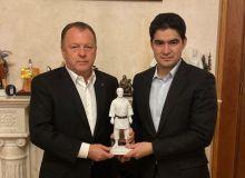 Азизжон Камилов встретился с президентом Международной федерации дзюдо