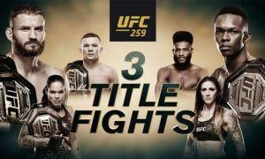 UFC 259 турнирида октагонга кўтариладиган барча жуфтликлар маълум!