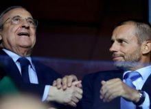 УЕФА президенти Пересни аҳмоққа чиқарди
