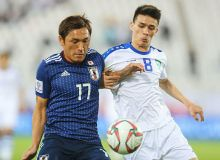 Photo Gallery. Japan 2-1 Uzbekistan