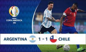 Мессининг чиройли голи Аргентинага 1 очко олиб берди (видео)