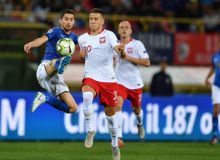 Италия - Польша 1:1 (видео)