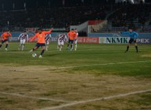 В матче «Кызылкум» - «Андижан» зафиксирован минимальный счёт