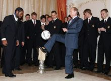 Президент билан футбол ўйнаган ҳужумчи
