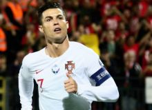 Роналду Евро-2020 саралашида кетма-кет 6 та ўйинда гол урди