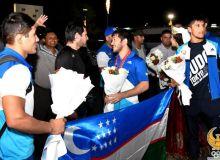 Сборная Узбекистана по дзюдо вернулась в Ташкент