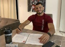 Mahmud Muradov signed a contract for the next fight