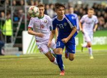 Юношеская сборная Узбекистана уступила Беларуси