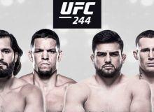 UFC 244 турнирида жанг қиладиган жуфтликлар рўйхати билан танишинг