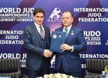 Президент IJF прибыл в НОК. Узбекистан примет чемпионат мира 2021 года по дзюдо среди взрослых