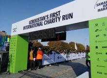 """Стали известны имена победителей марафона """"Samarkand Half marathon"""""""