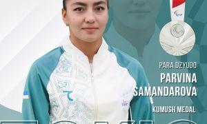 Parvina Samandarova grabs silver on Paralympic debut