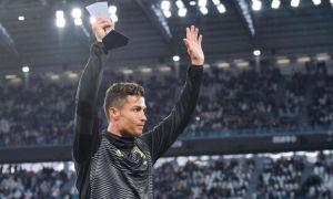 Роналду А Серия кубоги билан ўғлига зарба бериб юборди (видео)