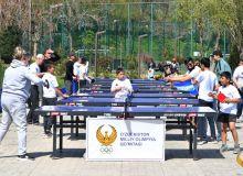 В «Экопарке» прошло массовое мероприятие посвященное Международному дню настольного тенниса