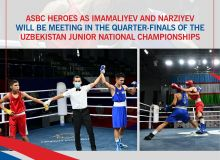ASBC Heroes as Imamaliyev and Narziyev will be meeting in the quarter-finals of the Uzbekistan Junior National Championships