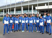 Uzbek boxers return home with six medals of Kazakhstan President's Cup