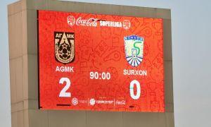 FC AGMK beat FC Surkhon 2-0 by ending their losing streak