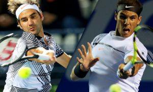 """French Open"": Рожер Федерер ва Рафаэль Надаль ярим финалда ўзаро тўқнашади"