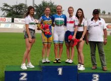 Ольга Забелинская отпраздновала победу в Италии