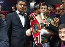 Тошкентда ажойиб профессионал бокс оқшоми бўлиб ўтди