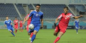 Uzbekistan beat Tajikistan as international football returns to Asia