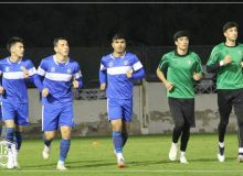 Олимпийская сборная Узбекистана провела первую тренировку в Дубае