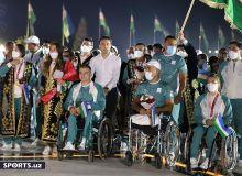 Фотогалерея с церемонии встречи и награждения наших паралимпийцев