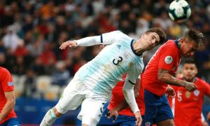 Чили - Аргентина 0:0 (видео)