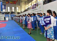 """""""Universal sport saroyi""""da Toshkent shahar spartakiadasining ochilish marosimi bo'lib o'tdi (foto)"""