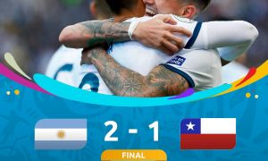 Копа Америка. Чилини енгган Аргентина бронза медалини қўлга киритди