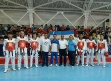 Команда Узбекистана по таэквондо WTF выступила в Таджикистане