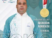 Хусниддин Норбеков двукратный Паралимпийский чемпион!