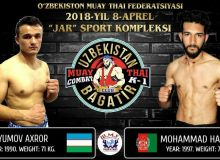 Tashkent to host muay thai contests at the Jar Sports Complex