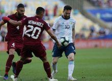 Венесуэла - Аргентина 0:2 (видео)