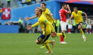 Швеция ЖЧ-2018да еттинчи чорак финалчига айланди