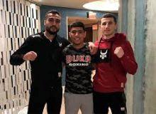 """Isroil Madrimov, Murodjon Ahmadaliev hamda Shahram G'iyosov """"Matchroom boxing"""" talqinida...(Video)"""