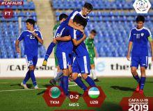 Туркменистан – Узбекистан 0:2 (Видео)