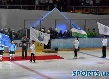 Хоккей чемпионатининг очилиш маросимидан фоторепортаж