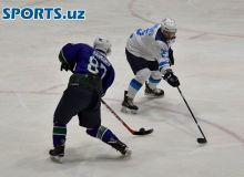 Photo Gallery. Uzbekistan Ice Hockey League | Tashkent 5-1 Binokor