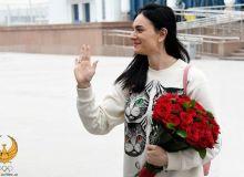 Елена Исинбаева Тошкентга етиб келди