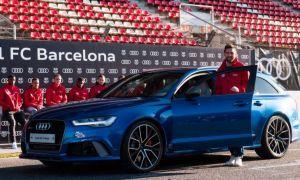 """Барселона"" футболчилари Audi автомобилларини компания ихтиёрига қайтариб беришади. Чунки..."