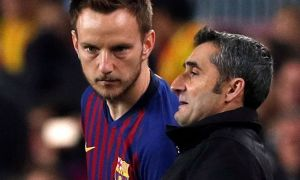 """Вальверде: Ракитичнинг """"Барселона""""да қолиш ёки қолмаслигини мен билмайман"""